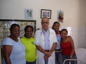 Mitarbeiter der Gesundheitsstation