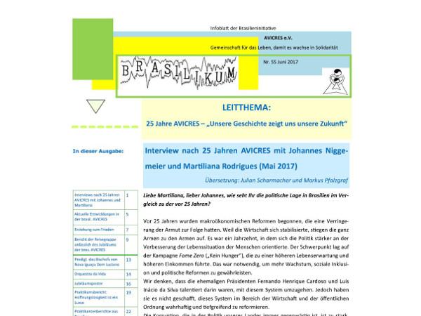 Brasilikum Cover Nr. 55